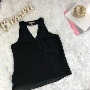 Banana Republic blouse black color size M